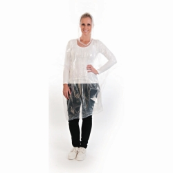 Poncho transparent, PE