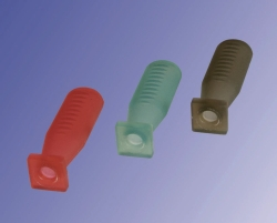 Tétines pour pipettes, silicone